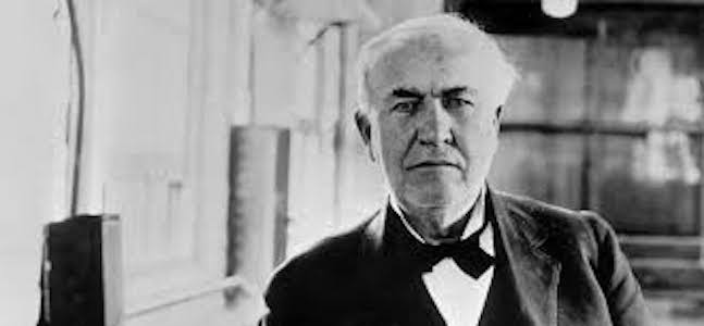 Thomas Edison story and content marketing