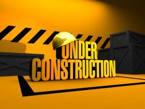 under construction web site - sito internet in costruzione